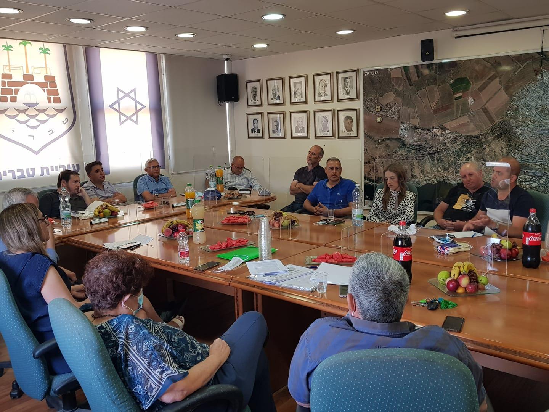 עיריית טבריה פגישה בנושא תיירות